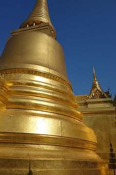 Temple, Thailand, Gold, Wat, Buddha