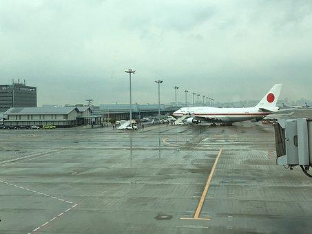 Tokyo, Haneda, Airport, Arrival