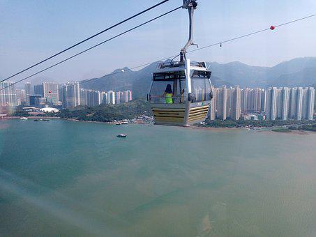 Hong Kong, Cable Car, Travel, Tourism