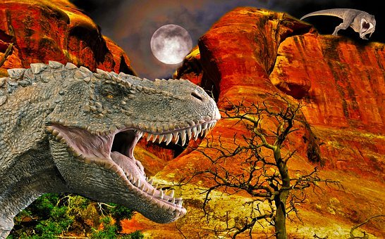 T-rex, Prehistoric, Dinosaurs, Tyrannosaurus