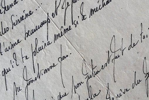 Vintage, Texture, Writing, Aged