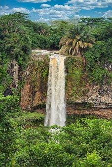Rivière De Cap, Chamarel, Waterfall, Water Masses