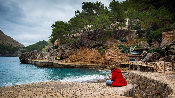 Torrent Pareis, Mallorca, Winter