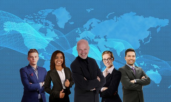 Team, Boss, Staff, Business, Leader, Diversity