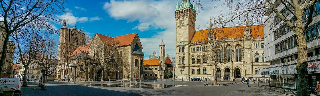 Braunschweig, Place Of German Unity, Downtown