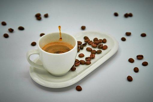 Coffee, Espresso, Drip, Syringe, Close Up, Beans