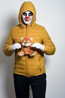Evil, Mask, Gloves, White Gloves, Toy