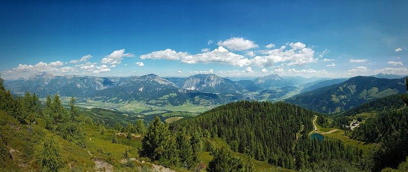 Mountain, Nature, Sky, Transylvania, România, Forest