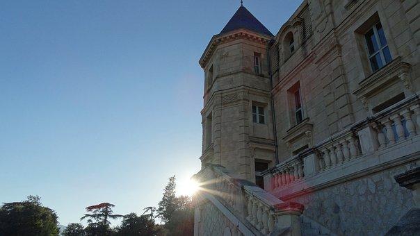 Chateau, France, Castle, Architecture, Paris, Chantilly