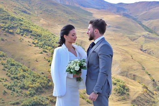 Georgia, Wedding, Mountains, Open Space