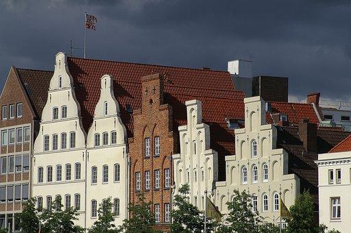 Lübeck, Schleswig Holstein, Germany, Hanseatic City