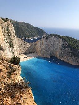 Vacation, Trip, Tourism, Plane, Greece