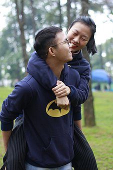 Couples, Happiness, Happy, Joyful, Smiles, Girl, Boy