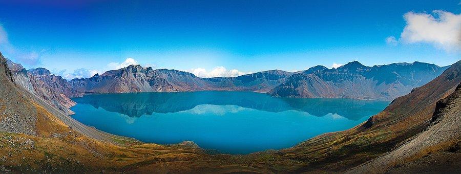Mountain, Lake, Nature, Water
