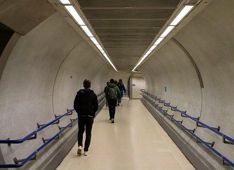 London Underground Tunnel, Underground
