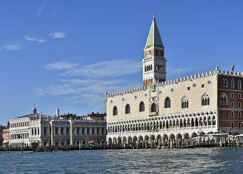St Mark's Square, Doge's Palace, Markus Tower, Steeple