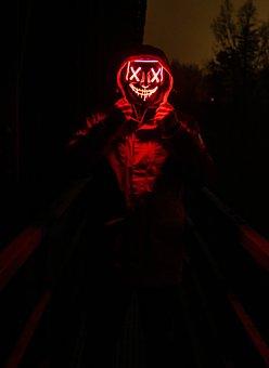 Purge, Halloween, Mystical, Head, Dark, Darkness