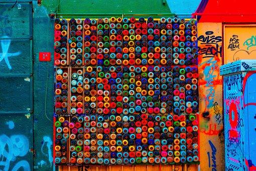 Wall, Paint, Balantic, Texture, Background, Graffiti
