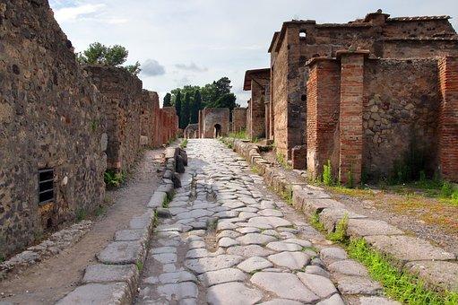 Pompeii, Italy, Naples, Roman, Vesuvius, Ancient