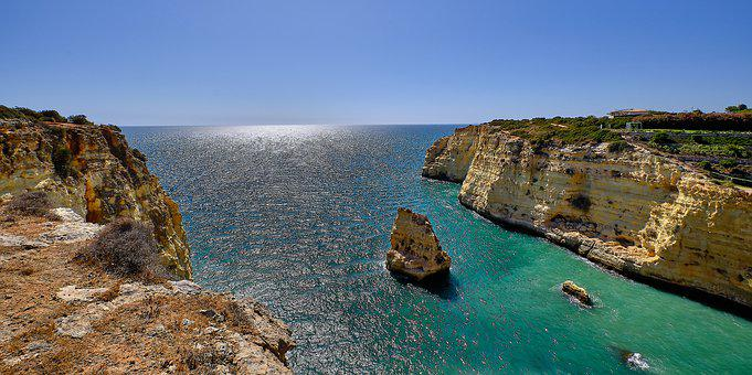 Algarve, Portugal, Beach, Ocean