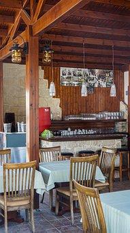 Café, Interior, Bar, Restaurant, Coffee, Table, Design