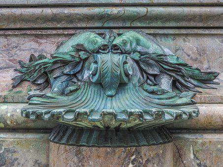 Architecture, Fountain, Sculpture, Old, Historically