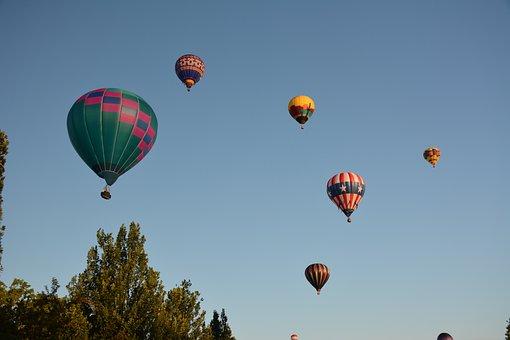 Hot, Air, Balloon, Boise, Idaho, Dream, Balloons, Sky