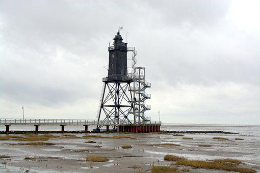Tower, Lighthouse, Upper Shipping, Coast