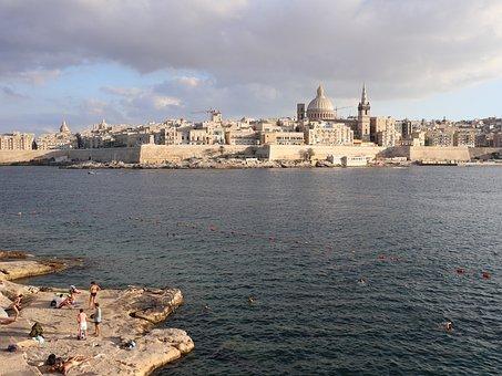 Malta, Vacations, Travel, Summer, Beach, Sun, Sea