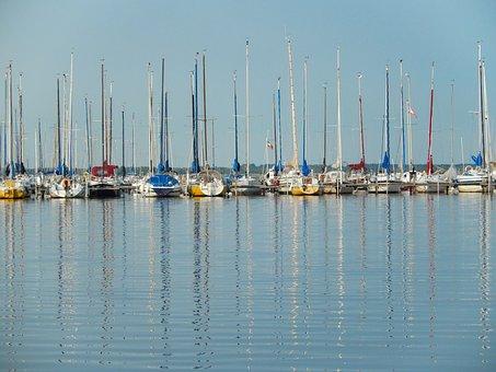 Lower Saxony, Steinhuder Sea, Mardorf, Water, Nature