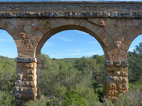 Aqueduct, Tarragona, Pont Del Diable, Arches