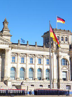 Reichstag, Bundeswehr, Flag, Policy, International