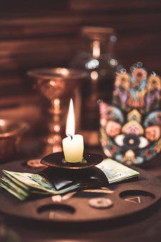 Magic, Candle, Ritual, Fortune Teller, Candles, Altar
