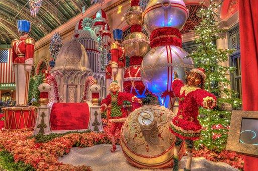 Las Vegas, Christmas, Decorations, Casino, Nevada