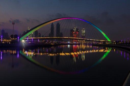 Dubai, Emirates, Arab, Architecture, Skyscraper