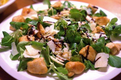 Salad, Lamb's Lettuce, Parmesan, Healthy, Fresh