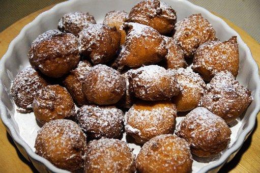 Krapfen, Donuts, Fried, Sweet, German Specialty