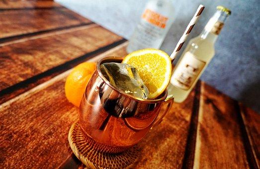 Mandarin Mule, Moscow Mule, Ginger Beer