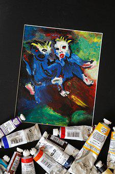 Oil Painting, Hobby, Oil Paints