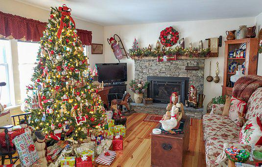 Christmas, Country, Holiday, Scenic