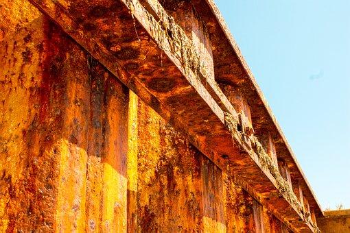 Rust, Steel, Texture, Old, Rusty, Industrial