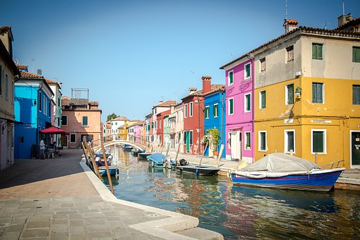Burano, Italy, Venice, Architecture