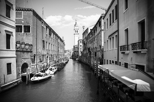 Venice, Italy, Architecture, Water, City, Europe
