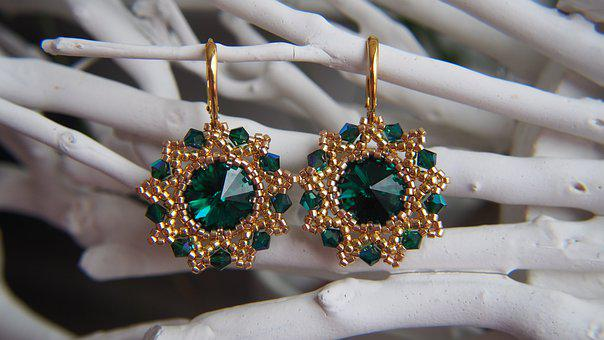 Earrings, Jewel, Jewelry, The Elegance Of The, Style
