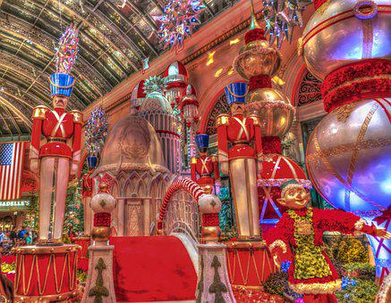 Las Vegas, Christmas, Decorations