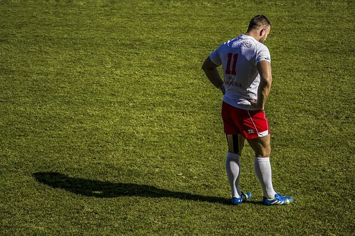 Player, Rugby, Sport, Grass, Game, Stadium, Male, Man