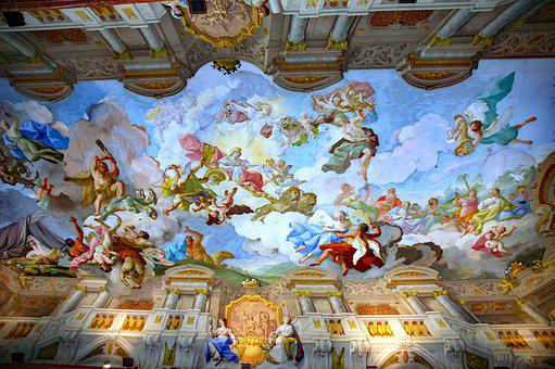 Austria, Lower Austria, Melk, The Monastery Of Melk