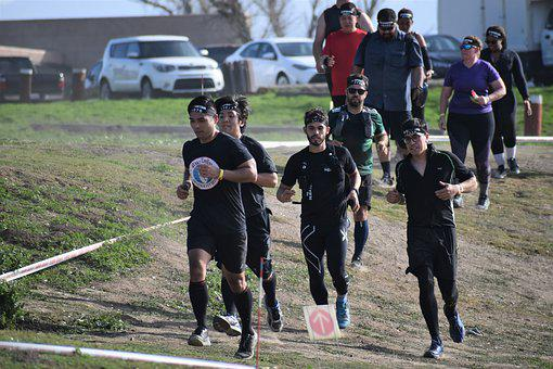 Spartan, Runners, Men, Fitness, Challenge, Competition