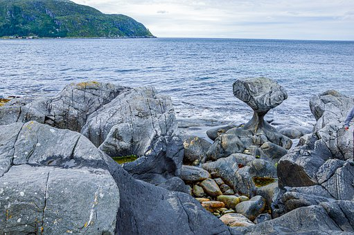 Can Stones, Rock Formations, Norway, Sea, State Beach