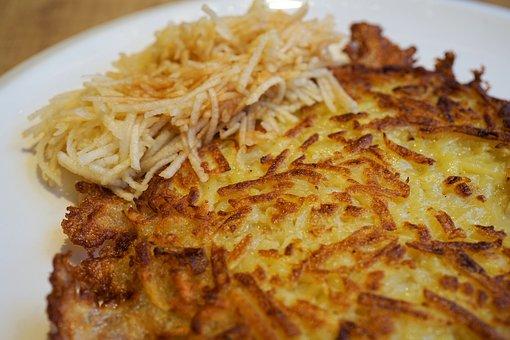 Pancake, Potato Pancakes, Potatoes, Eat